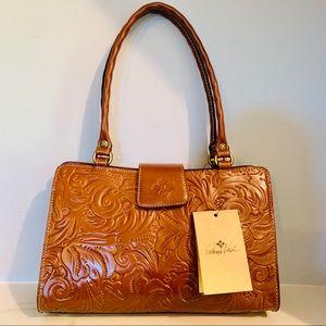Patricia Nash Rienzo Tooled Florence Leather Purse
